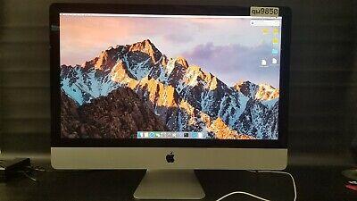 """Apple iMac MF886LL/A Core i5 3.5 27"""" 8GB 1TB+128GB Retina 4k ALL IN ONE"""