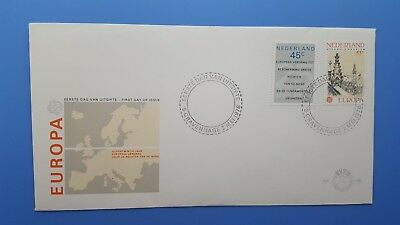 1978 nederland  Europe , envelope with stamps - RARE