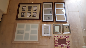 IKEA & Freedom Picture / Photo Frames x 8 Albany Creek Brisbane North East Preview