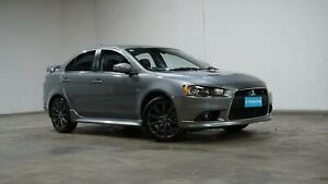 2014 Mitsubishi Lancer CJ MY15 Ralliart TC-SST Silver 6 Speed Sports Automatic Dual Clutch Sedan Welshpool Canning Area Preview