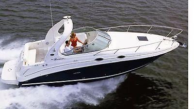 2003 Sea Ray 280 Sundancer Twin MerCruiser 5.0L Engines