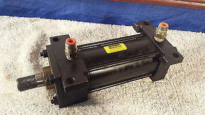Parker Cylinders 2.50 Stroke 4.00 Bore Fluid Power C2an 250 Psi