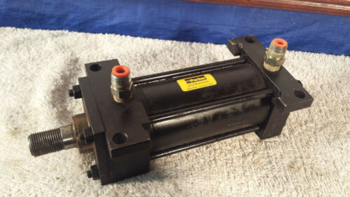 "Parker Cylinders 2.50"" Stroke 4.00"" Bore Fluid Power C2AN 250 PSI"