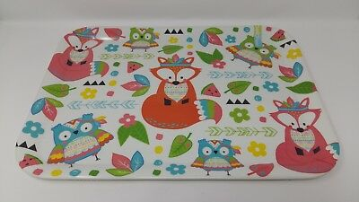 Cheap Serving Trays (Melamine Tray Summer Meadow Pattern Design 44cmx32.5cm Large New)