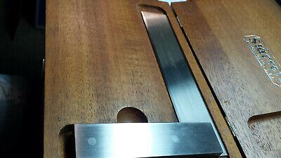 Starrett No.55 6 Master Precision Square Beveled Edge Toolmaker Machinist Usa