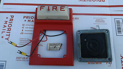 Simplex 4903-9101 Strobe Wall Mount With Horn Fire Alarm