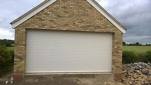 RD77 Electric Double Roller Garage Door upto 4875mm (16ft) x 2135mm(7ft)