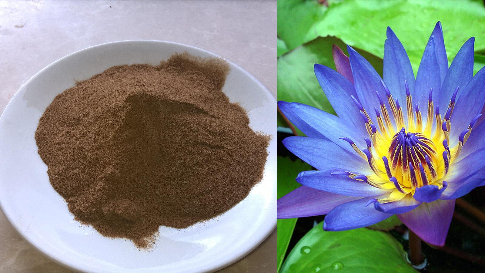 **  Blauer Lotus Extrakt 100:1 ** Nymphaea caerulea