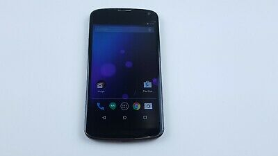 LG Nexus 4 (E960) 8GB Black (Unlocked) Smartphone Clean IMEI J2898