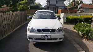 Daewoo lanos 2003 with 9month REGO AND RWC AND CAR ACCESSORIES Glenroy Moreland Area Preview