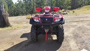 """Suzuki king-quad 4x4"" Cygnet Huon Valley Preview"