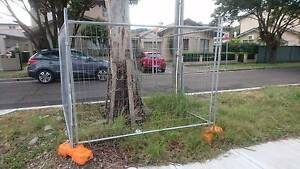 Temporary Fence - RapidMesh - 4 panels incl. feet and clamps Pagewood Botany Bay Area Preview