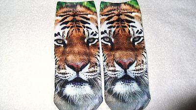 cute lion face socks unisex clothing casual