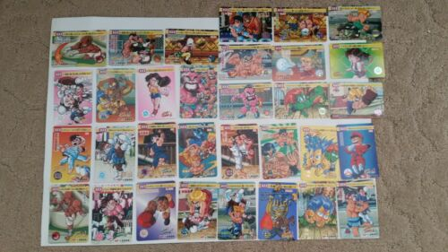 Vintage Street Fighter 2 Turbo Trading card set of 32  Super RARE Japan Bandai