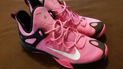 Nike Air Zoom Kay Yow Breast Cancer Pink/Black Size 12.5 (Black Pink Breast)