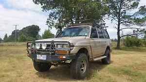 1994 Toyota Landcruiser 80series 4.5l manual Brisbane City Brisbane North West Preview