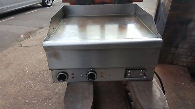 HOBART GRIDDLE, FLAT GRILL 60CM 3 PHASE ELECTRIC TABLE TOP