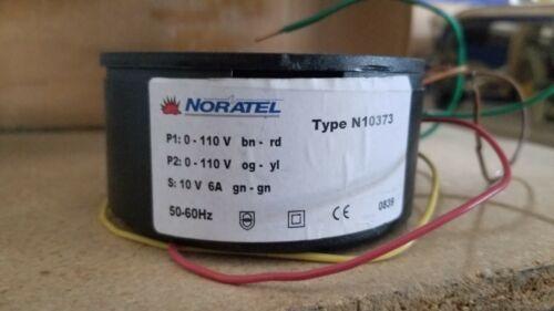 Noratel Toroidal Transformer 110V N10373 110V to 6V