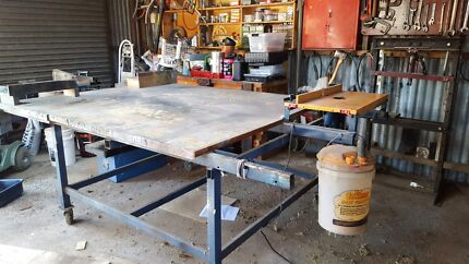 Bench with router Spreyton Devonport Area Preview