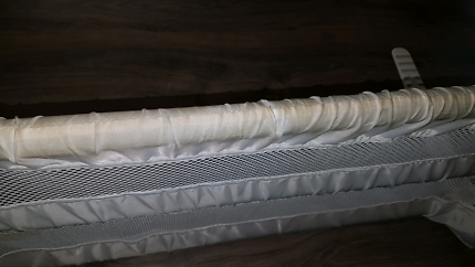 Toddler safety bed rail