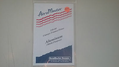 Aero Masters Decals Canopy Frames / Trims Aluminum Multi- Purpose