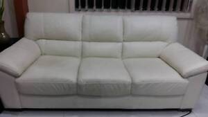 Cubl C9600 Bianco 3 Seat  excellent condition leather sofa Revesby Bankstown Area Preview