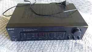 Vintage phono input Sony stereo receiver amplifier  80w per chan Noosa Heads Noosa Area Preview
