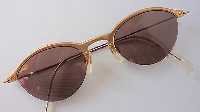 Damen Sonnenbrille Sunglasses im 50er 60er Jahre Vintage Menrad Cateye size M