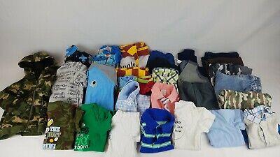 30 Piece Boys 6-9 Month Clothing Lot T-Shirts/Pants/Jeans/Coat/Pajamas (#23)
