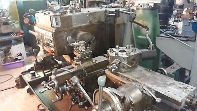 3 Warner Swasey M-2200 Square Head Turret Lathe 10 Hp Hyd. Collet Closer