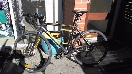 Reid CX Cyclocross Men's Bike including optional accessories