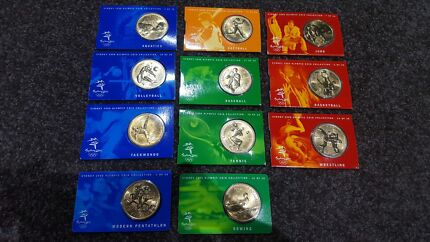 SYDNEY 2000 Olympic Bronze Coins South Tamworth Tamworth City Preview