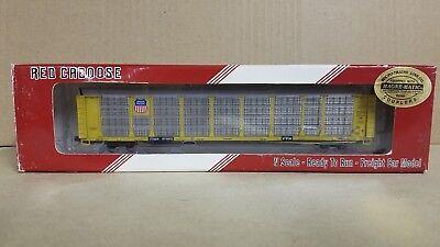 N Scale Red Caboose Union Pacific/ TTX TTGX 971972 Bi-Level 89' Autorack