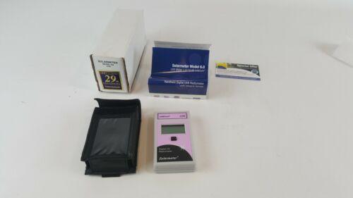 Solarmeter Pink 6.0 UVB Meter Measures 280-320nm Range 0-19.99 mW/cm² UVB