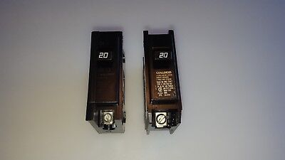 Challenger C120 1 Pole 20 Amp Type C Circuit Breaker