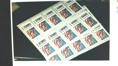 """"""" DISCOUNT STAMPS """" 20 USPS FOREVER  STAMPS 1 Book Sheet     << $8.50 >>"""