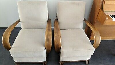 Art Deco Armchairs X 2