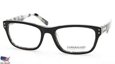 KARDASHIAN KOLLECTION KK-18 104 BLACK EYEGLASSES 52-18-140mm (DISPLAY (Kardashian Eyeglasses)