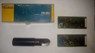 Sumitomo Igetalloy Ballnose Endmill Bms 530 Wbox And Inserts