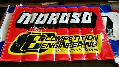 MOROSO COMPETITION ENGINEERING RACING BANNER SIGN FLAG 34X60