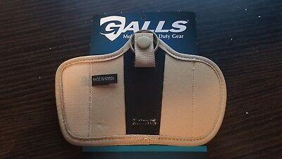 Galls Molded Nylon Silent Key Holder Rare Desert Tan Police Duty Belt Gear