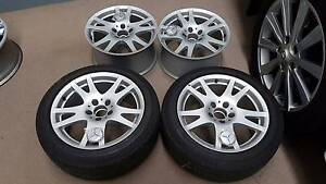 "Genuine Mercedes CLS [ 5 Twin Spoke ] 17X8.5"" Wheels [ W219 ] Woodridge Logan Area Preview"