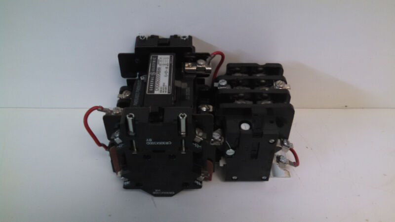 Guaranteed General Electric Motor Control Starter Contactor Cr306c000abha Nema 1