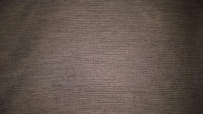 "Elegant brown black weave polyester rectangular tablecloth 60"" x 90"" vintage"
