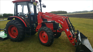 Cab tractor 85hp FEL 4in1 Grafton Clarence Valley Preview