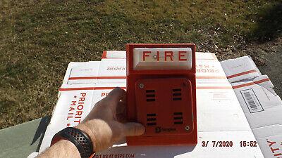 1 Simplex Fire Horn Strobe Combo Wall Mount 4903-9101 2901-9838