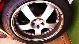 Subaru  18s  Dunlop wheels and tyres Campbelltown Campbelltown Area Preview