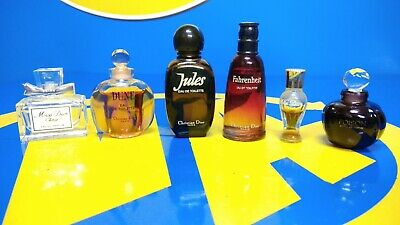 Coleccionismo -Mini Perfumes Lote 6 Mini Perfumes CHRISTIAN DIOR-nuevos