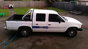 1991 Nissan Navara twin cab Kings Meadows Launceston Area Preview