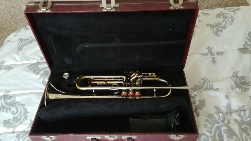 vintage 1966 conn constellation 28A long model cornet